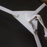 198200 Glasspiegel (bol) 60 cm  incl. beugel (achter2)