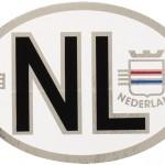 520610 NL-sticker met wapen