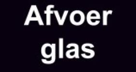 Afvoer glas