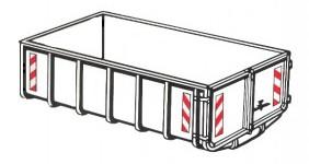 containermarkering – bouw – veiligheidssignalering