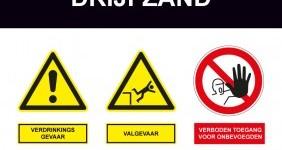 Drijfzand – bouw – veiligheidssignalering en advies