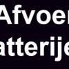 afvoer-batterijen